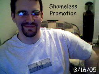 Shameless Promotion